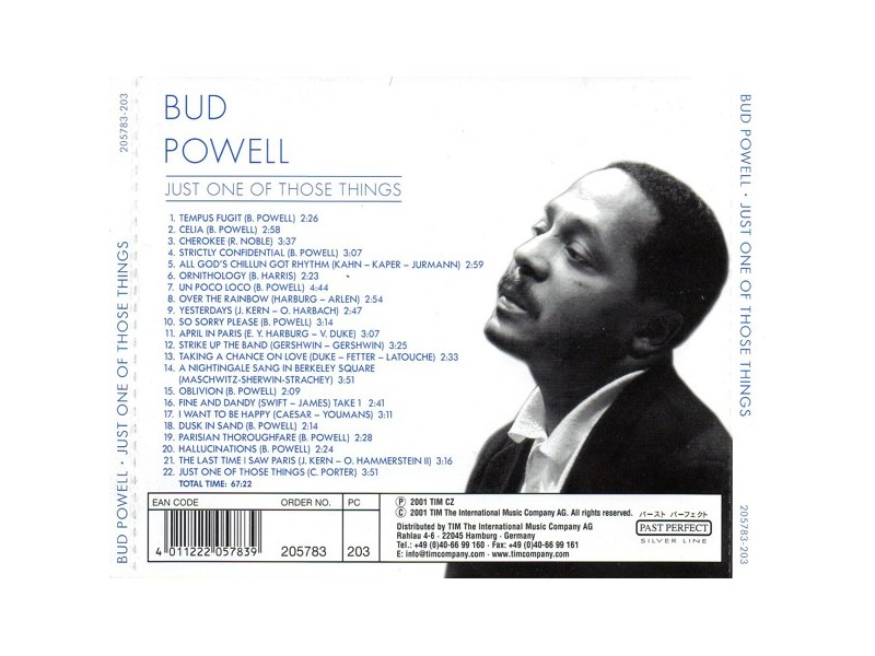 Bud Powell - Just One Of Those Things