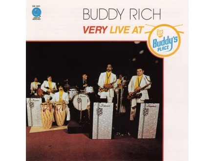 Buddy Rich ‎– Very Live At Buddy`s Place