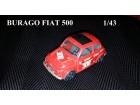 Burago autić - Fiat 500 1/43