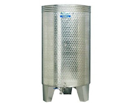 Bure za vino - INOX 800L - tri ventila