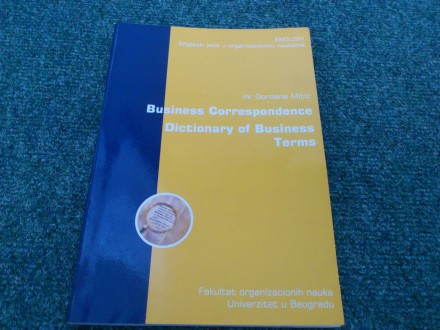 Business Correspondence Dictionary of Business Terms