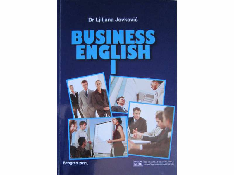 Business English I, Beogradska poslovna škola