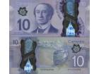 CANADA Kanada 10 Dollars 2013 P-107 UNC Polymer
