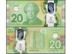 CANADA Kanada 20 Dollars 2015 P-108b UNC Polymer
