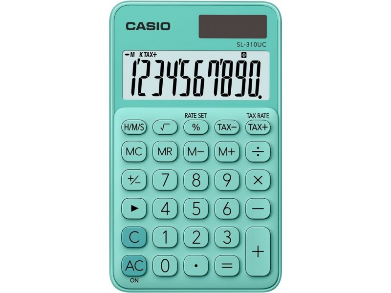 CASIO Kalkulator SL-310UC green