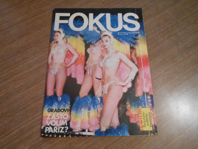 CASOPIS FOKUS-PARIS/PARIZ