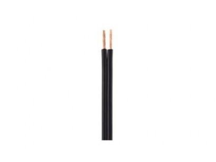 CC-2C-OFC4-01 Gembird OFC 2-core cable, 0.41 mm2, black/black-white, 100 m