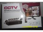 CCTV video nazor sa 8 kamere 1800 TVL