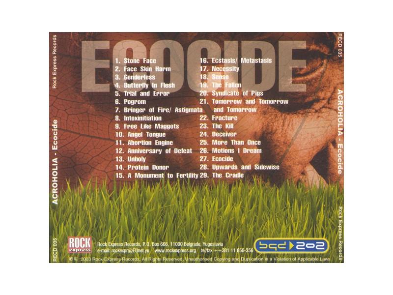 CD Acroholia - Ecocide