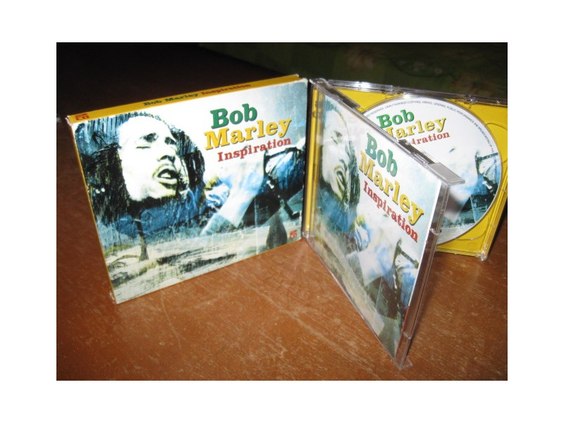 CD - BOB MARLEY - INSPIRATION 2CD