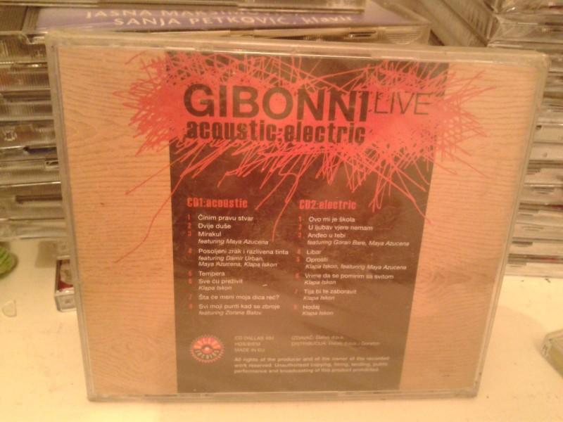 CD -  Gibonni* – Live Acoustic:Electric