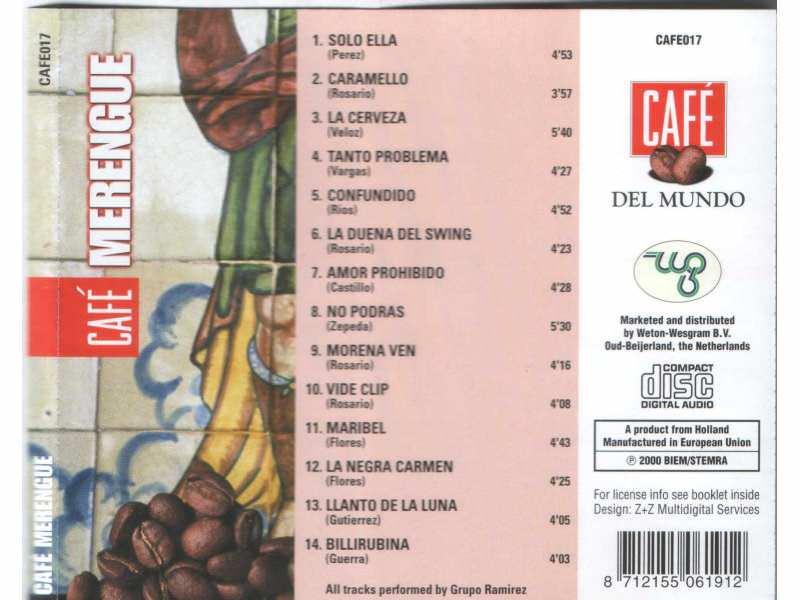 CD - Grupo Ramirez - MERENGUE - A MUSICAL TASTE