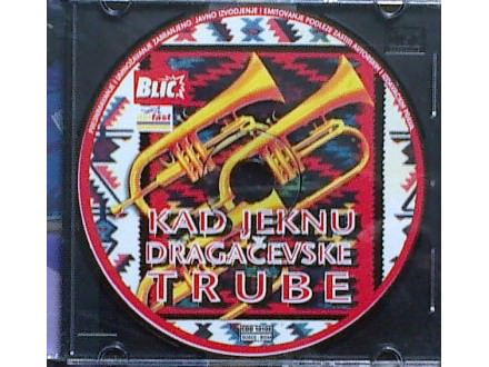 CD `Kad jeknu Dragačevske trube`