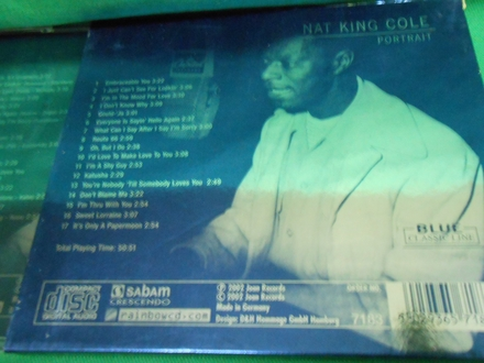 CD : NAT KING COLE - PORTRAIT