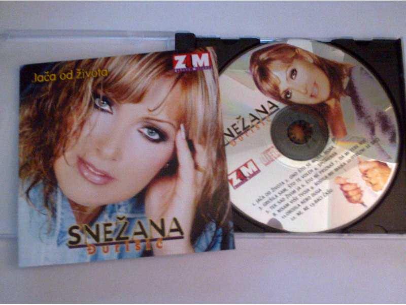 CD Snezana Djurisic `Jaca od zivota`