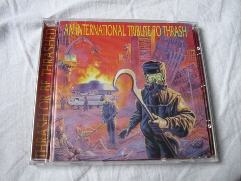 CD Thrash Or Be Thrashed