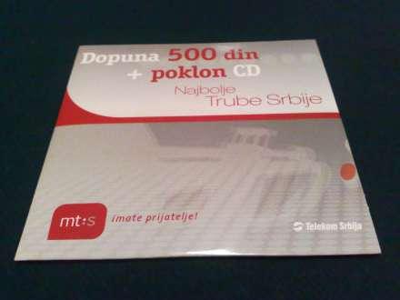 CD, Various Artists, Najbolje Trube Srbije