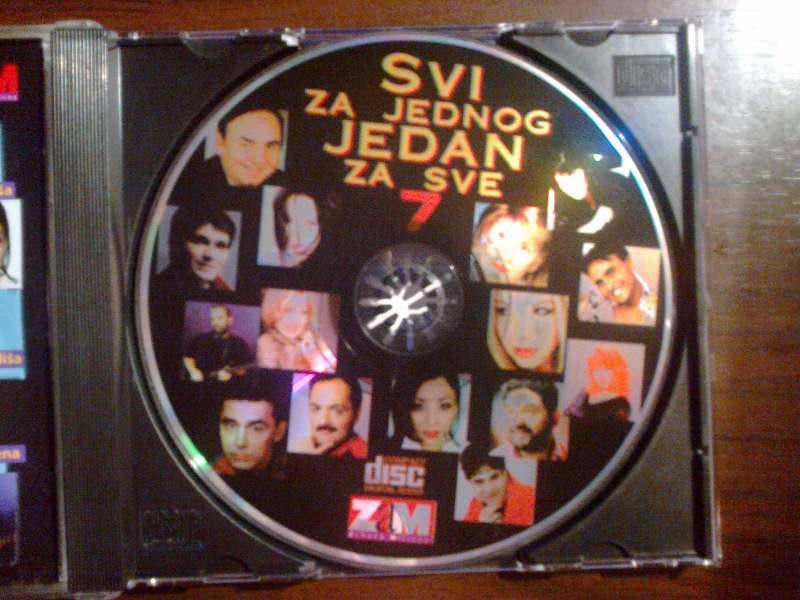 CD Zoran Starcevic `Svi za jednog jedan za sve 7`