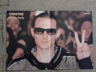 CHESTER (LINKIN PARK) / PINK - poster