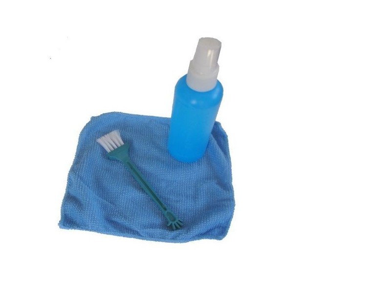 CK-LCD-005 ** Gembird Cleaning set 3 in 1, fluid 100ml + brush + towel, set za ciscenje(119)