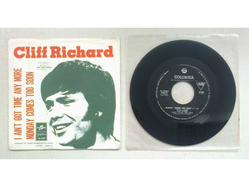 CLIFF RICHARD - I Ain`t Got Time Any More (singl) lice.