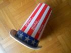 COCA COLA CUP UNCLE SAM TOP-HAT