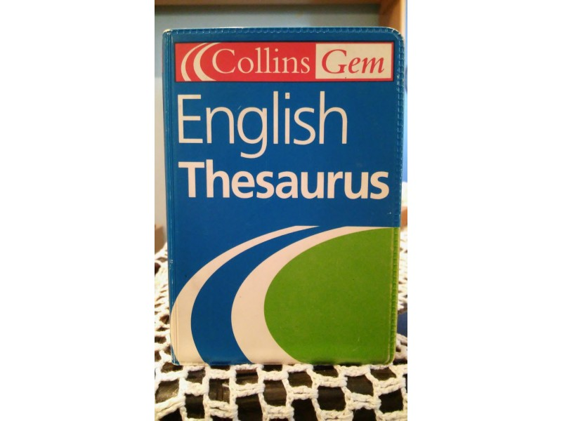 COLLINS REČNIK SINONIMA - ENGLISH THESAURUS