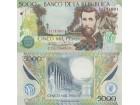 COLOMBIA Kolumbija 5.000 Pesos P-452  2013 UNC  (fc)