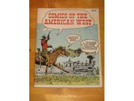COMICS OF THE AMERICAN WEST (istorija western stripa