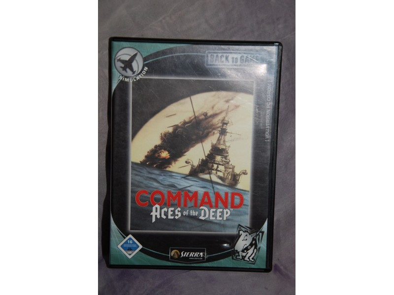 COMMAND ACES OF THE DEEP  IGRICA