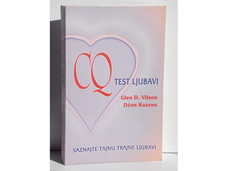 CQ Test ljubavi - Glen D. Vilson i Dzon Kazens