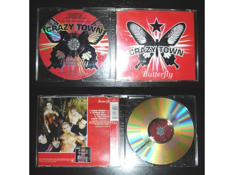 CRAZY TOWN – Butterfly (CDEP) Made in EU