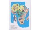 CRNO TELO, BELE MASKE / Afrika - perfekT