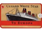 CUNARD WHITE STAR QUEEN MARY karta za prtljag