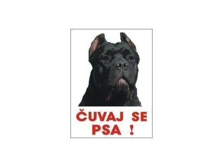 ČUVAJ SE PSA - Cane Corso nalepnice i table