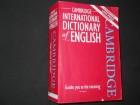 Cambridge International Dictionary of English