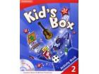 Cambridge Kid`s Box 2 - Activity book - NOVO -