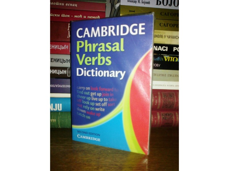 Cambridge Phrasal Verbs Dictionary,NOVO