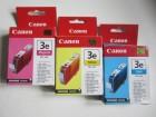 Canon BCI-3e - komplet Color kertridža Y/C/M