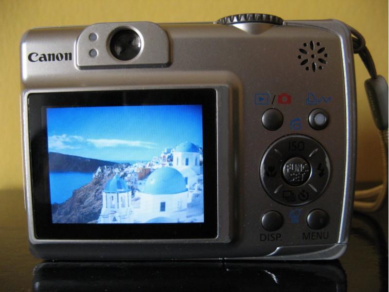 Canon PowerShot A550 - kao nov!