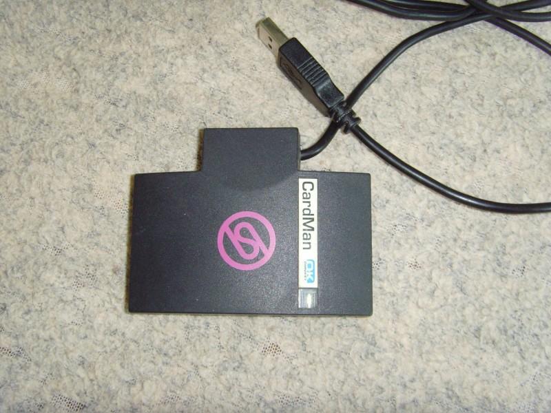 Card Man Citac Elektronskih Kartica-Smart Kartica