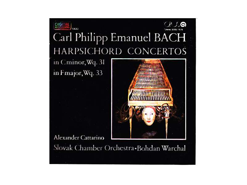 Carl Philipp Emanuel Bach, Alexander Cattarino, Slovak Chamber Orchestra, Bohdan Warchal - Harpsichord Concertos
