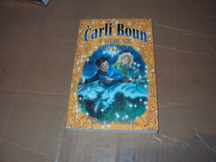 Carli Boun i vuk iz divljine