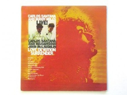 Carlos Santana And Buddy Miles And Mahavishnu John Mcla