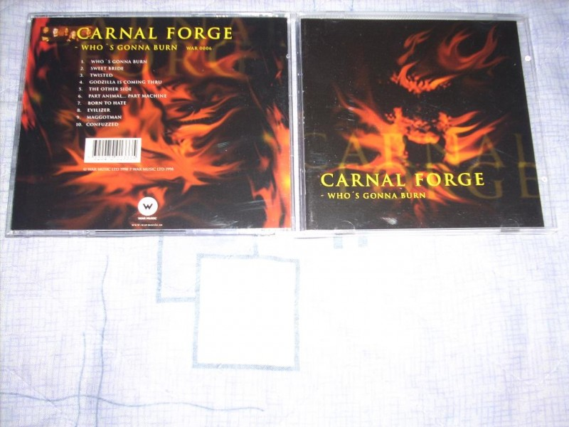 Carnal Forge - Who`s Gonna Burn CD
