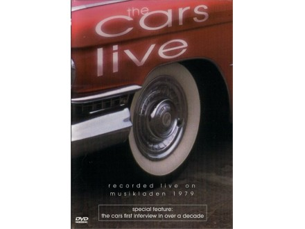 Cars, The - The Cars Live