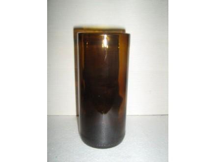 Čaša  za PIVO braon 250ml staklena