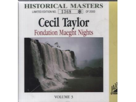 Cecil Taylor - Fondation Maeght Nights - Volume 3