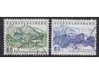 Čehoslovačka 1964 Michel #1457-1458, poništeno (o)