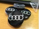 Čepovi Audi - 60mm crni
